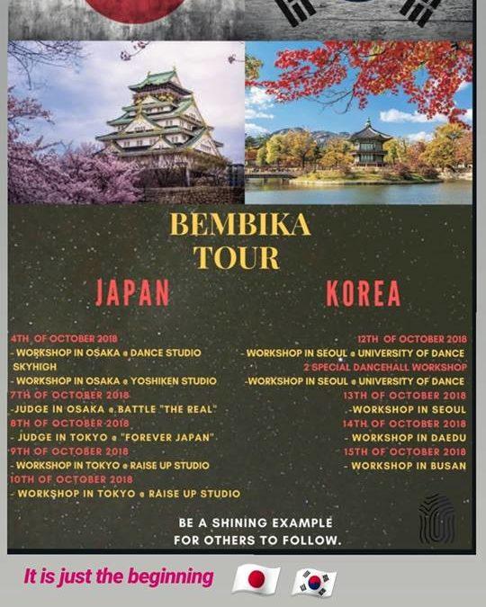 Tournée asiatique de Bembika