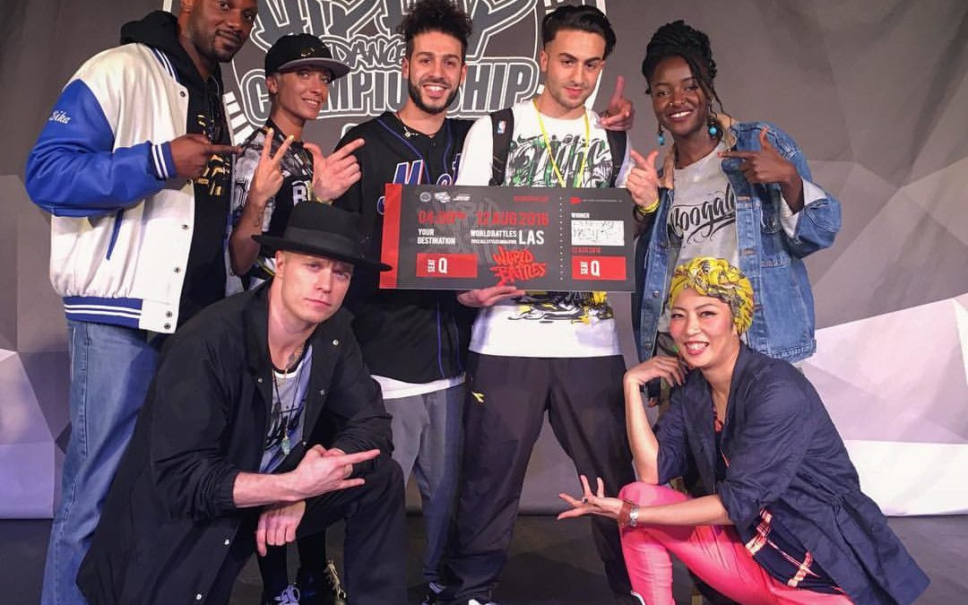 Judge @ Hip-Hop International Italy in Rome