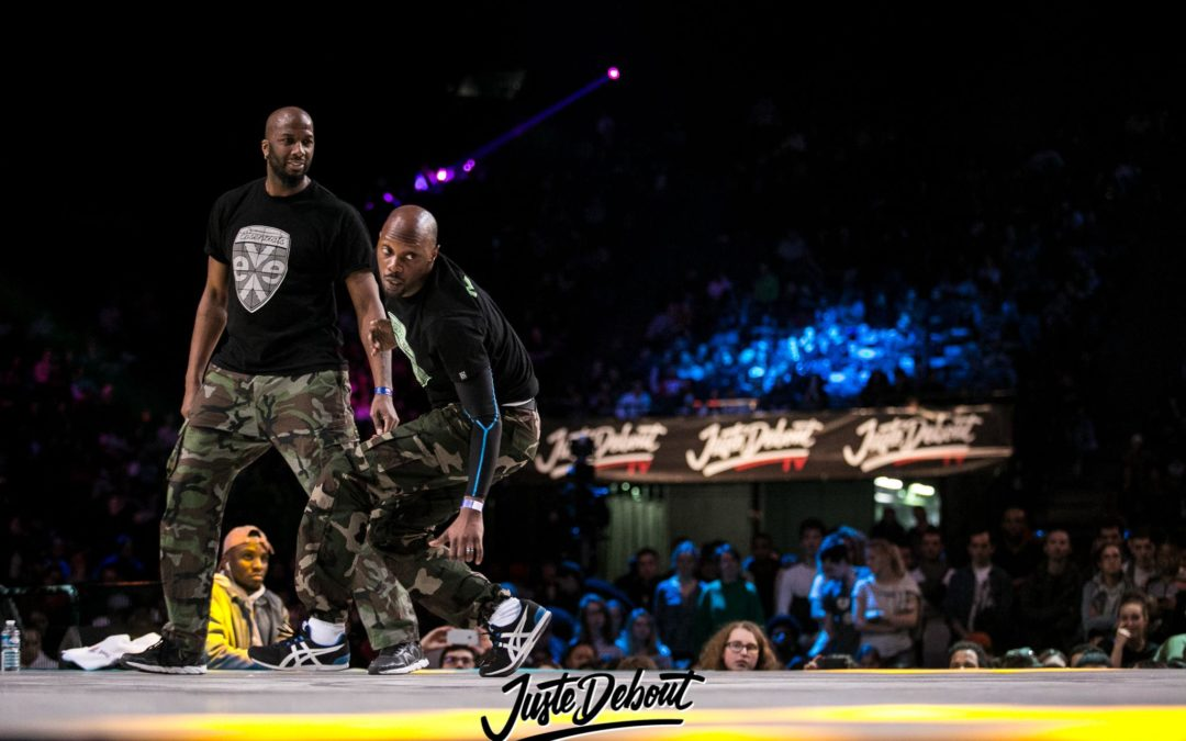 Best 4 @ Juste Debout in Accord Arena 2k18