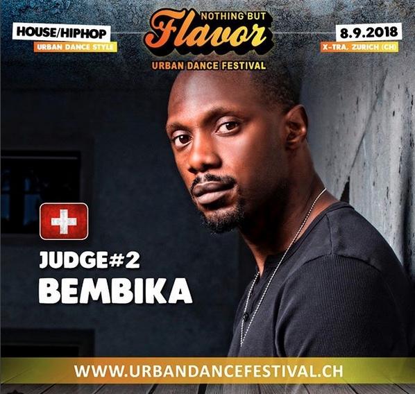 Judge at Nothing but Flavor in Zürich